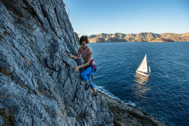 Плаване и катерене в Гърция