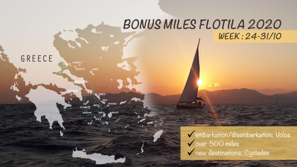 Bonus Miles Flotilla 2020